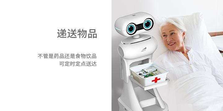 迎宾接待机器人功能